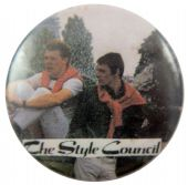 The Style Council - 'Red Jumpers' Button Badge